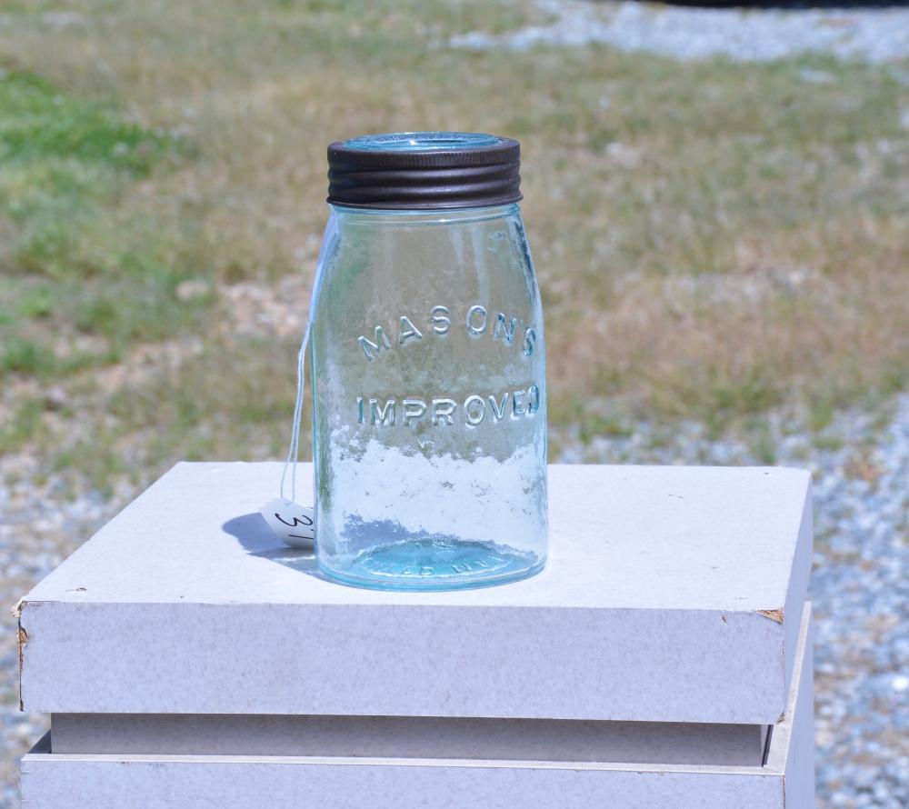 Mason's Improved 1870 Quart Fruit Jar