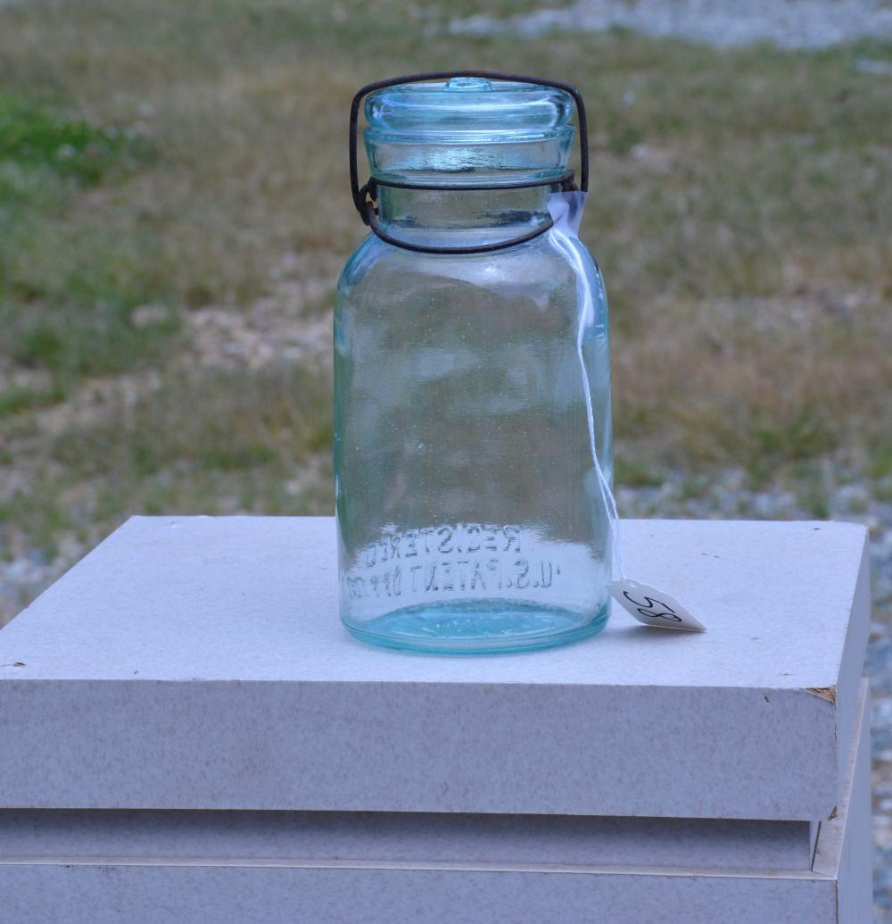 Trade Mark Lightning Putnam Quart Fruit Jar