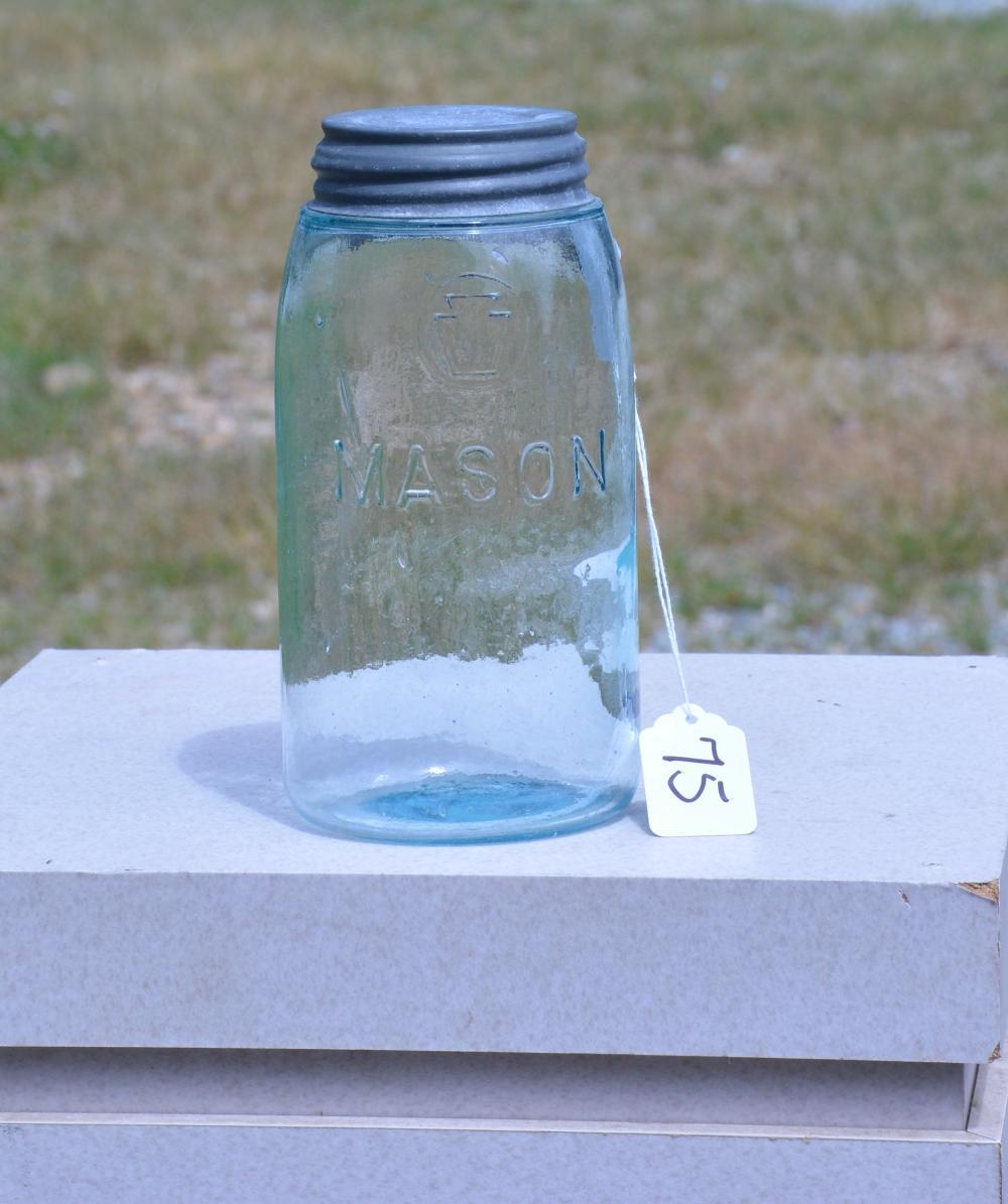 Keystone Mason Quart Fruit Jar