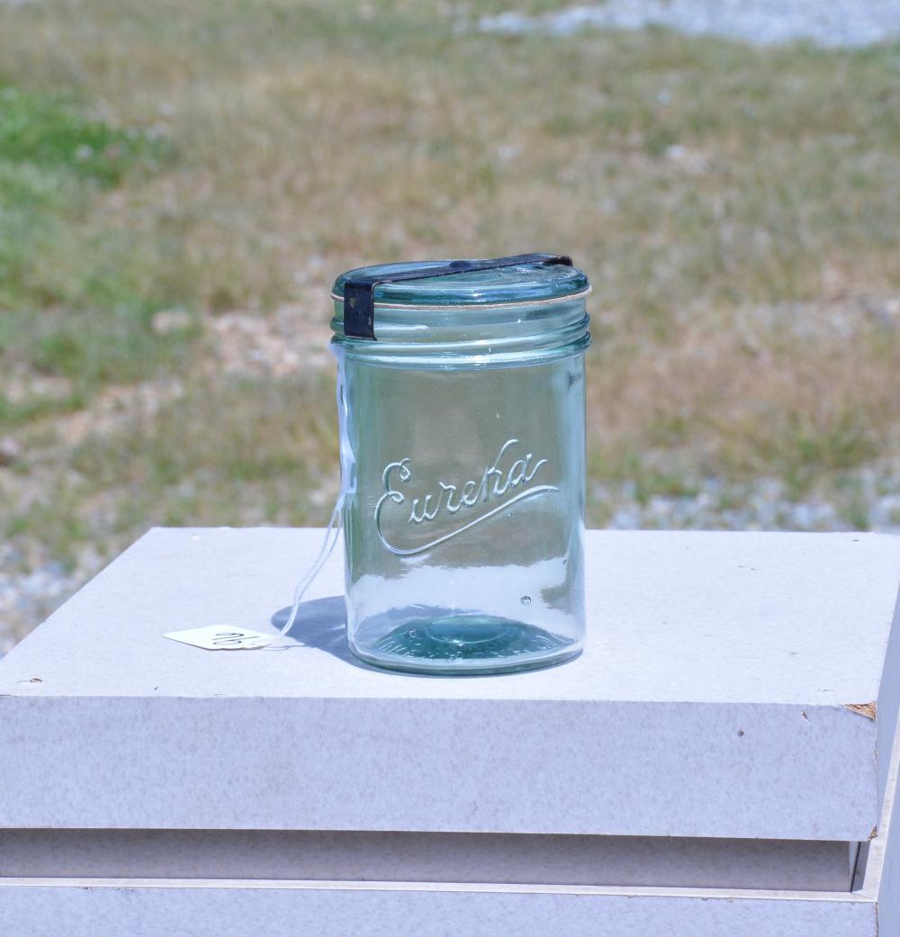 Eureka Jar Co, Boston Mass Pint Fruit Jar
