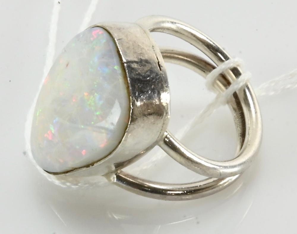 Original Vintage Modernist Sterling Silver Ring
