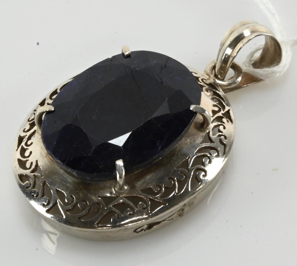 Vintage Designer Sterling Silver Pendant