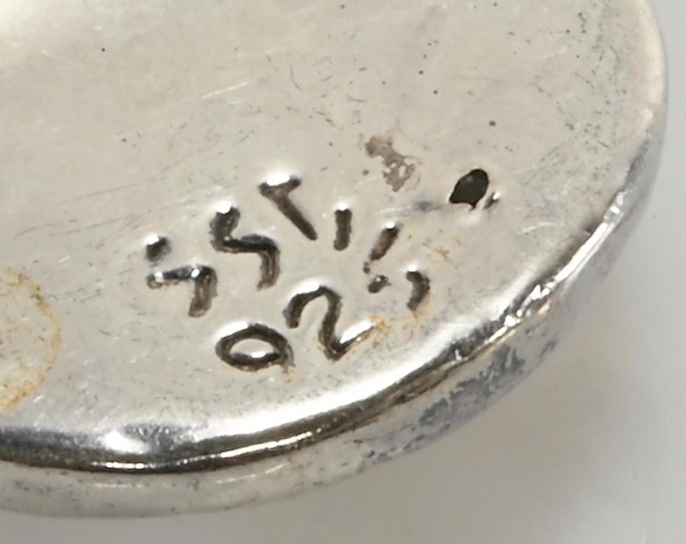 Vintage Simon Seebag Designer Sterling Silver Pendant
