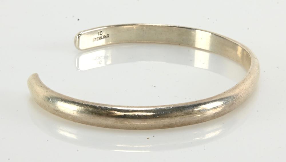 Vintage Designer I.C. Sterling Bracelet
