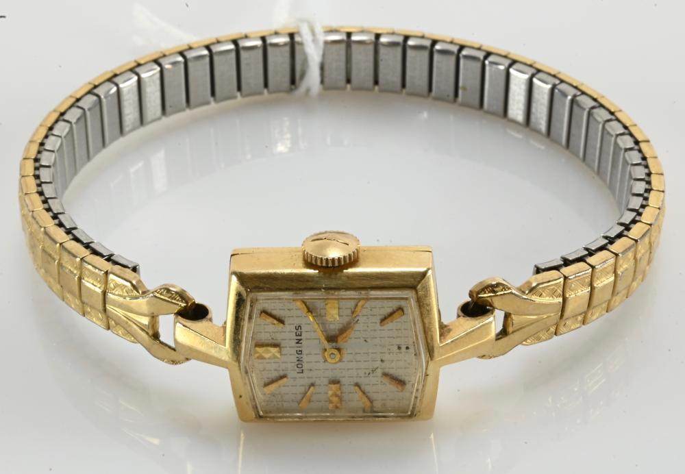 Vintage 14K Gold Longines Ladies Watch
