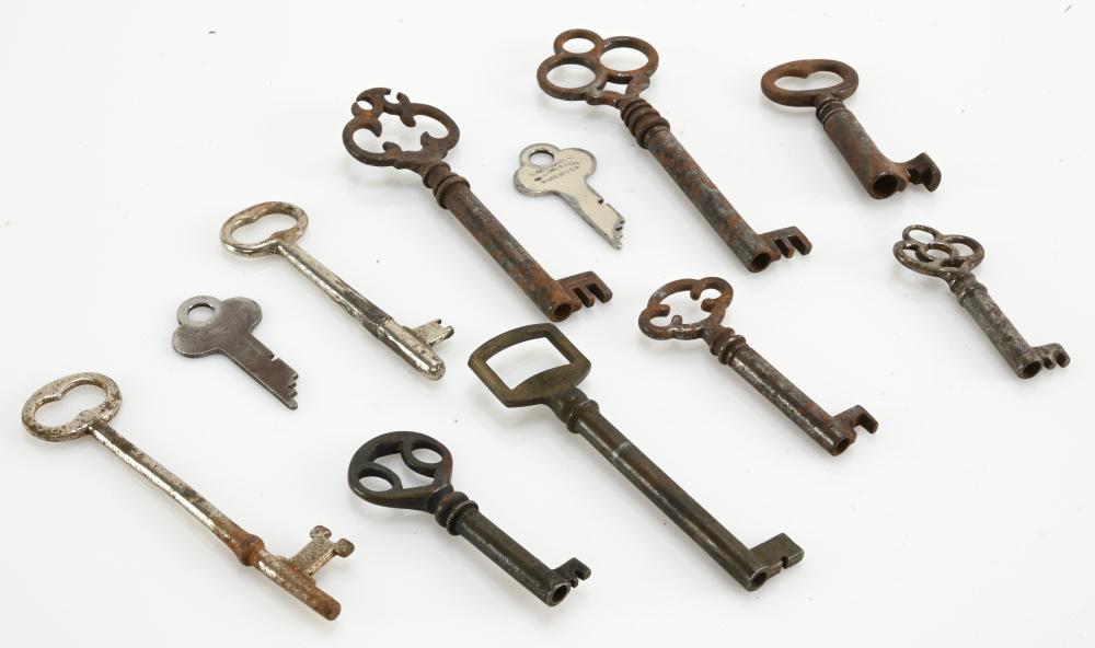 Antique Key Estate Collection