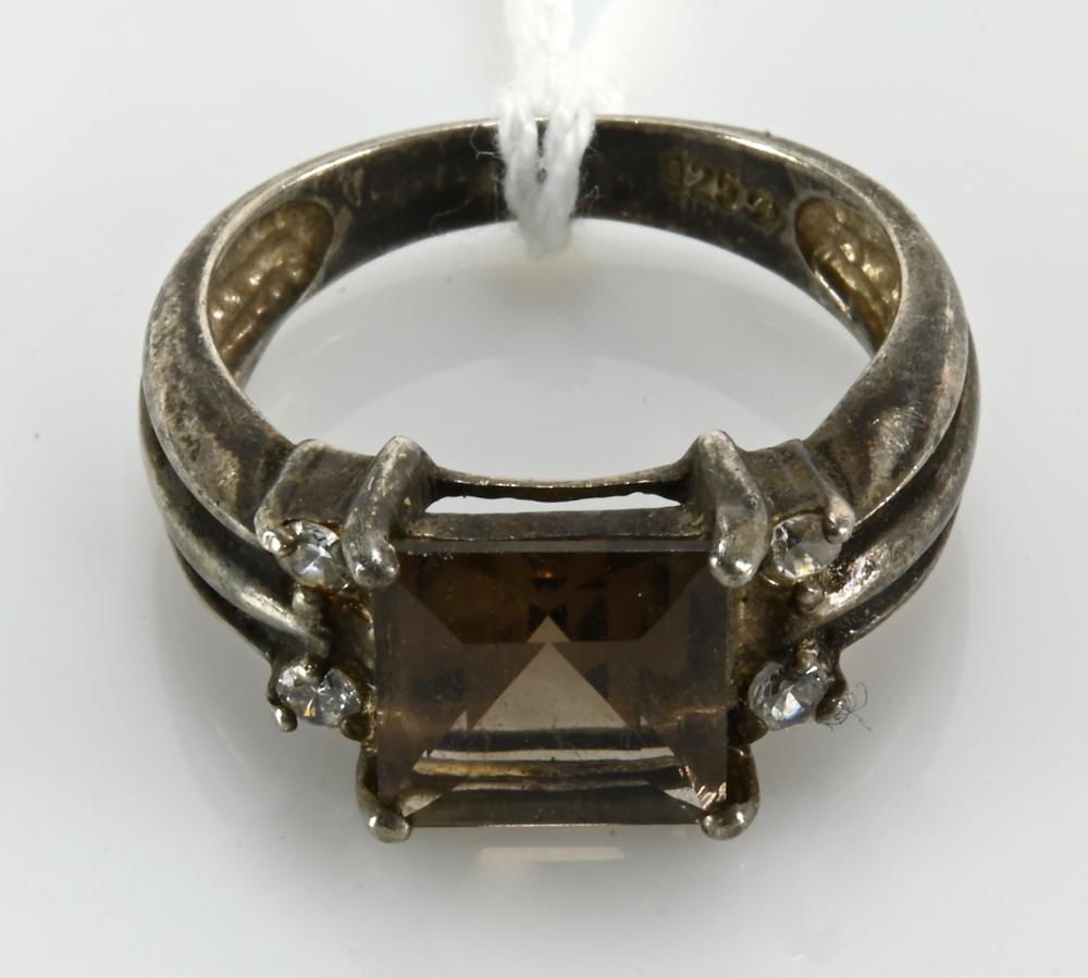 Vintage Designer Fashion Sterling Silver Ring