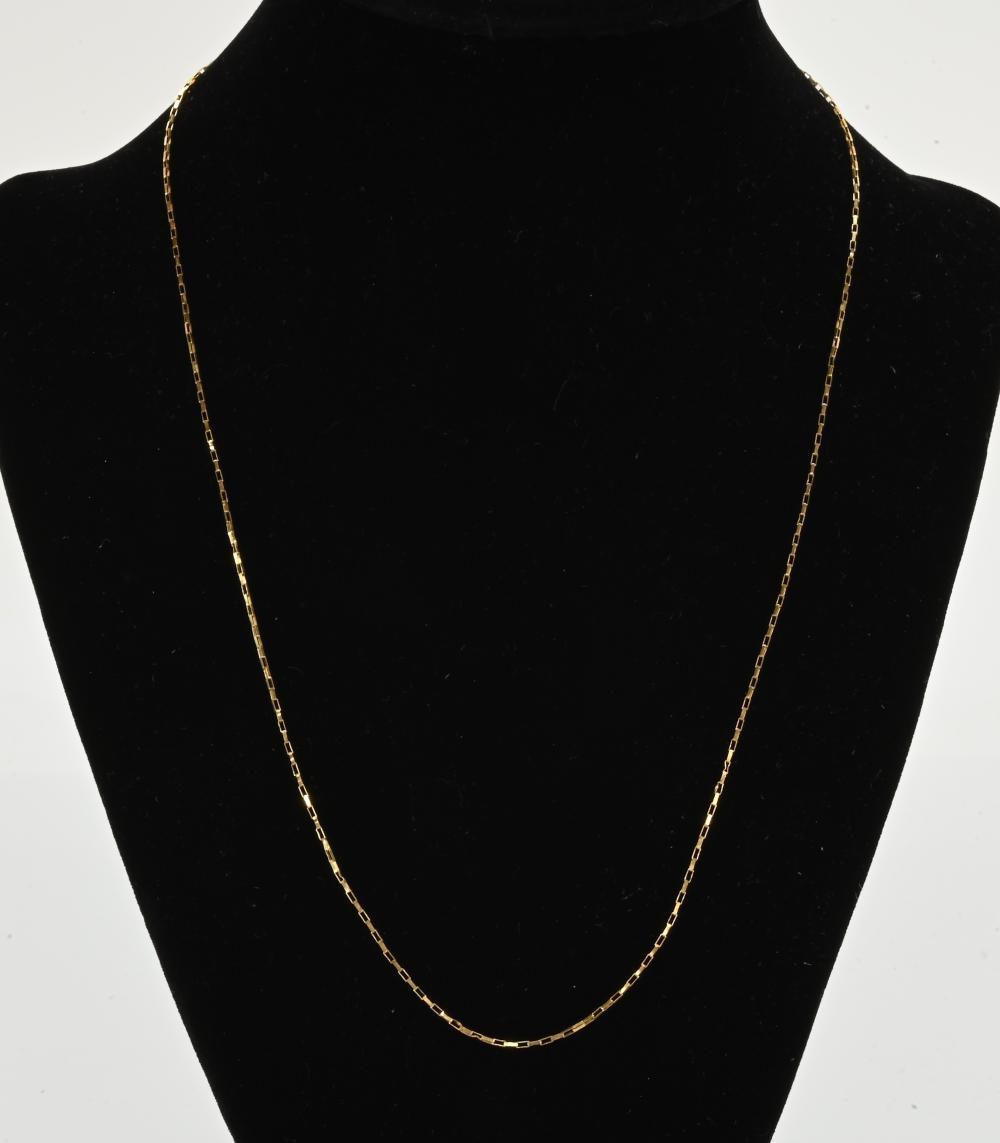 Vintage 14K Gold Designer Necklace
