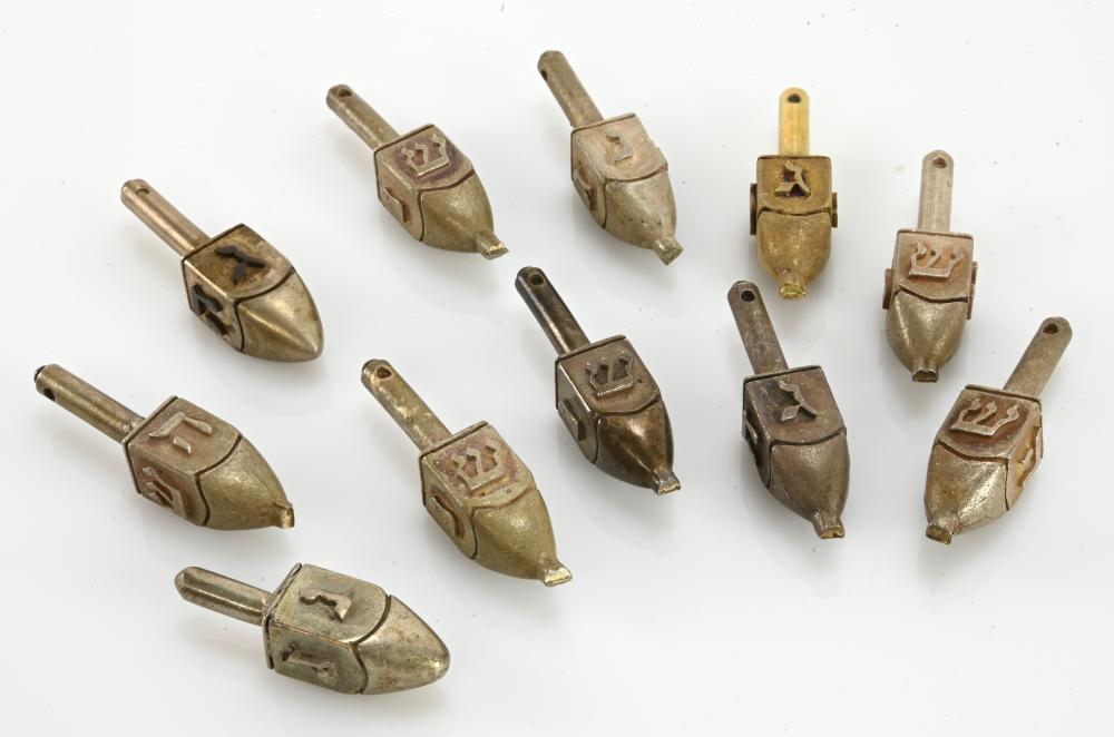 Antique Judaica Miniature Candles