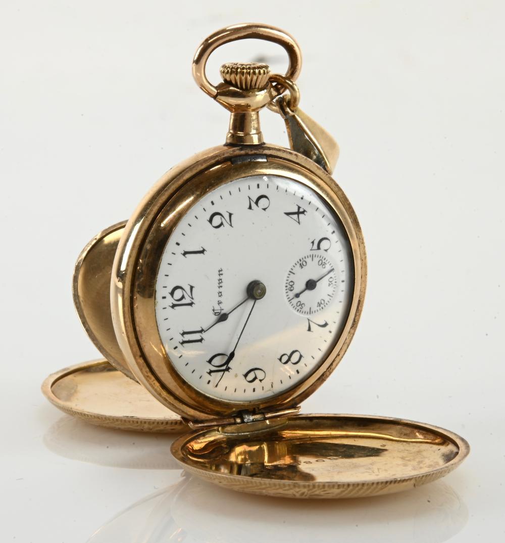 Antique Crown Watch Co. Pocket Watch Hunter Case