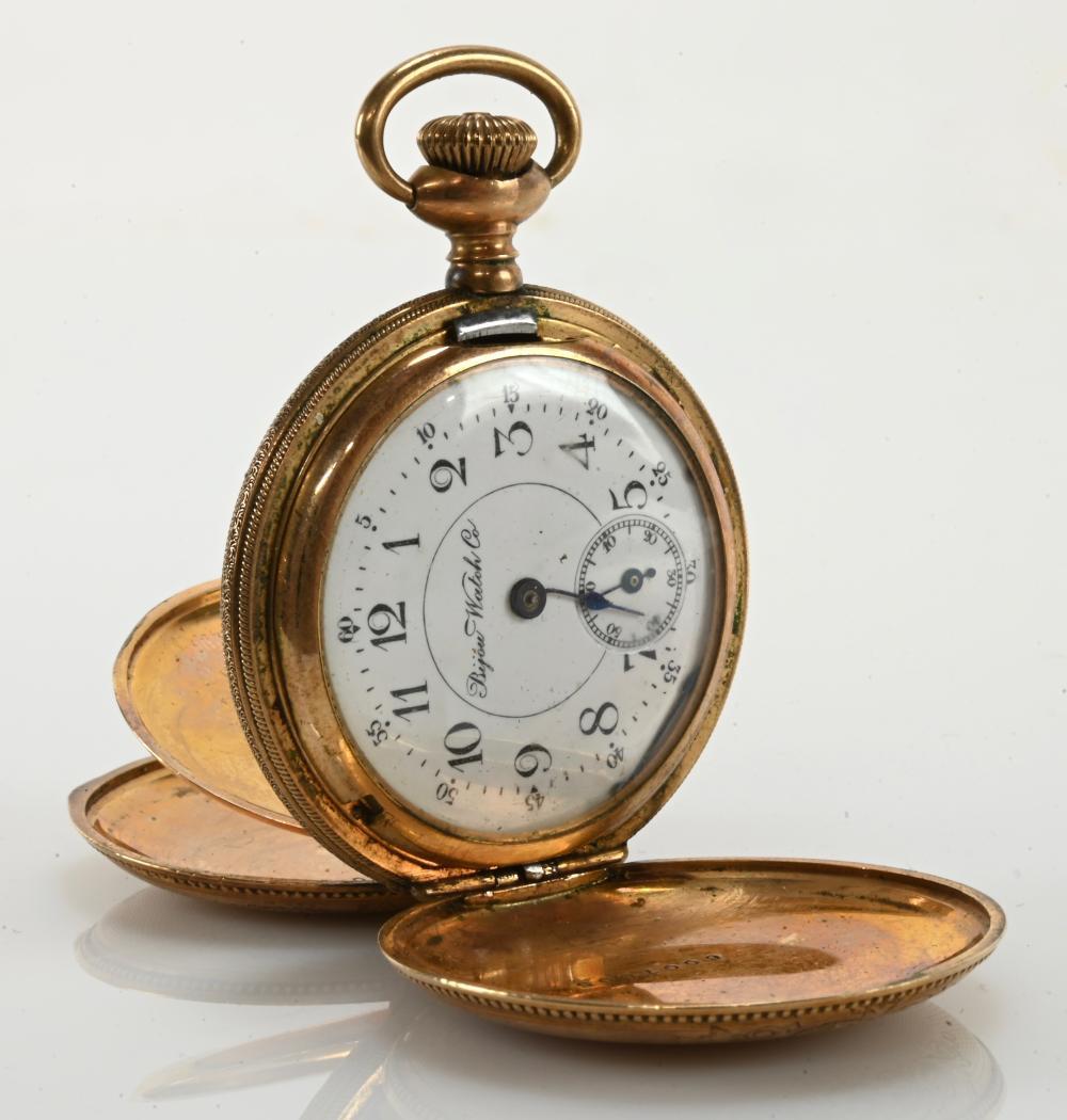 Bijou Watch Co. Pocket Watch Hunter Case
