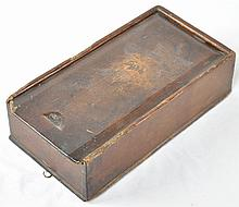 Early Slide-Lid Sewing Box