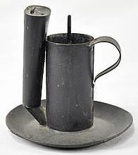 Tin-Ware Chamber Stick