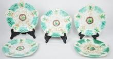 Majolica Set of Plates