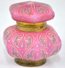 Victorian Ladies Powder Jar
