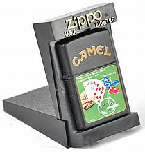 1970s Camel Poker Game Lighter
