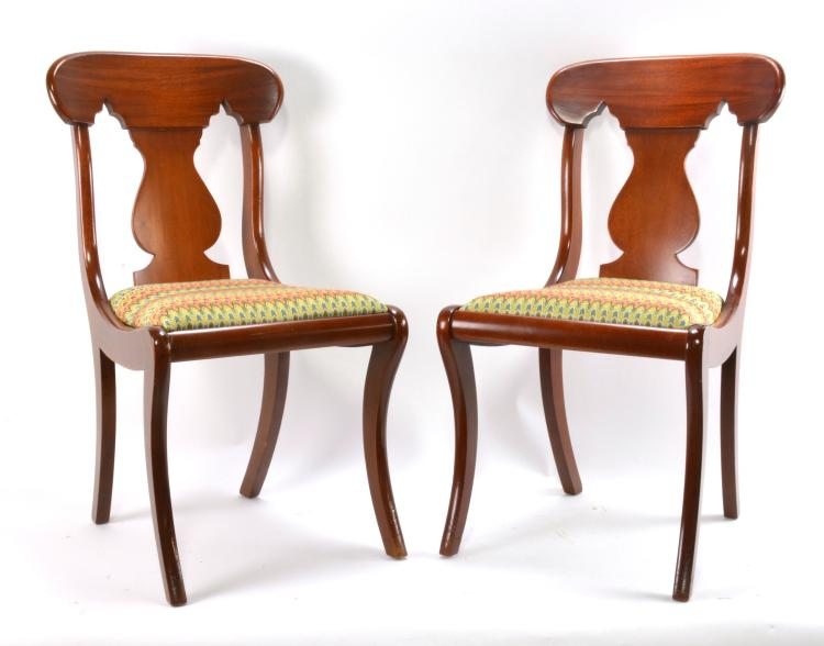 matching empire style chairs On y j furniture durham nc
