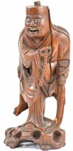 Chinese Rosewood Figure