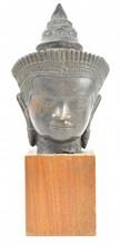 Lopburi Bronze Buddha Bust