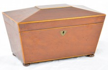 Federal Tea Caddy