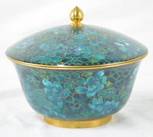 Cloisonne Covered Bowl