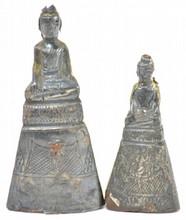 Silver Buddha Statues