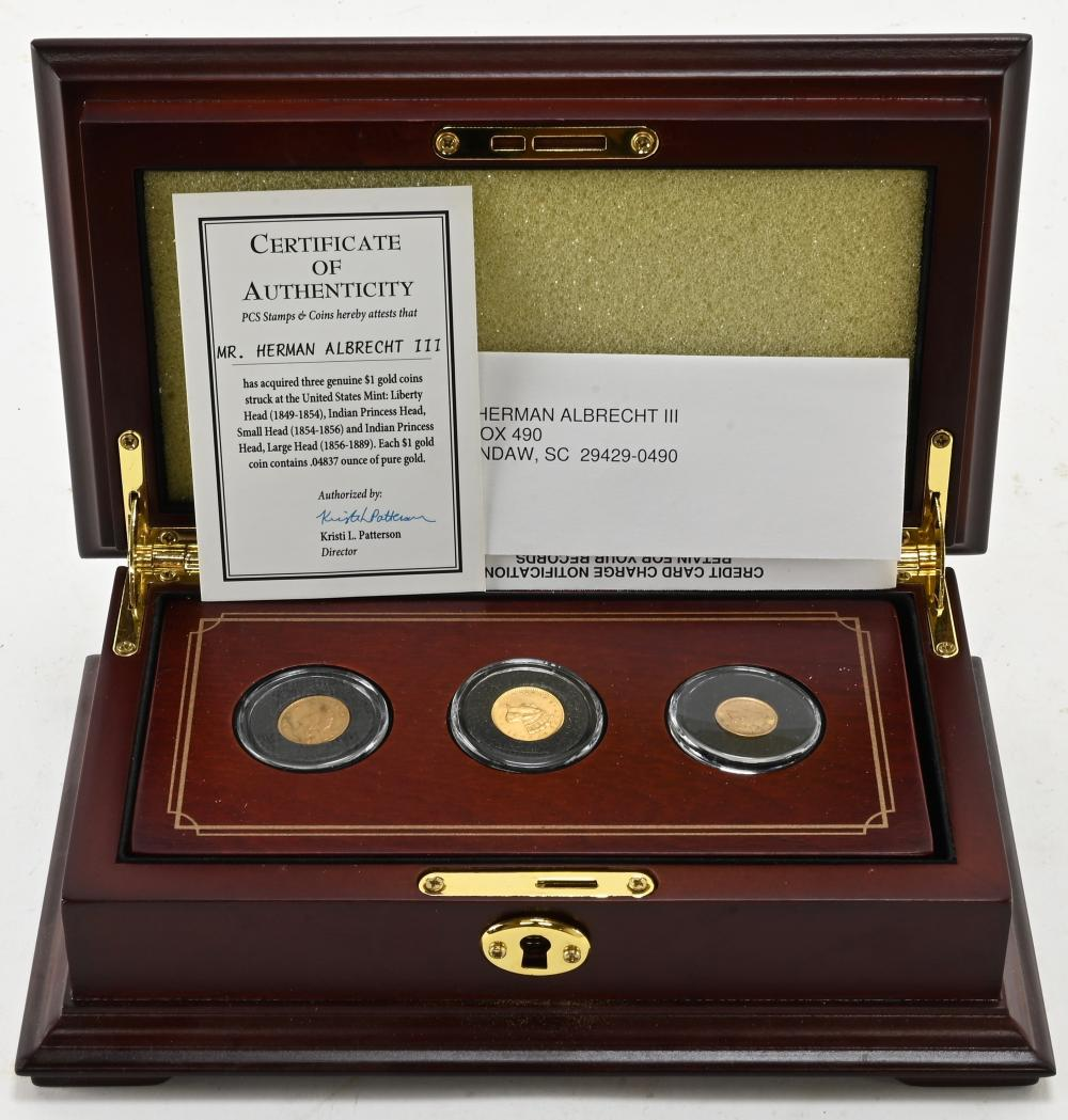 Complete Collection U.S. $1.00 Gold Coin PCS Set