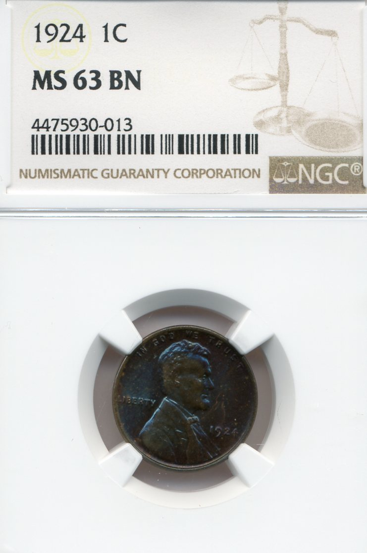 1924 Lincoln Cent