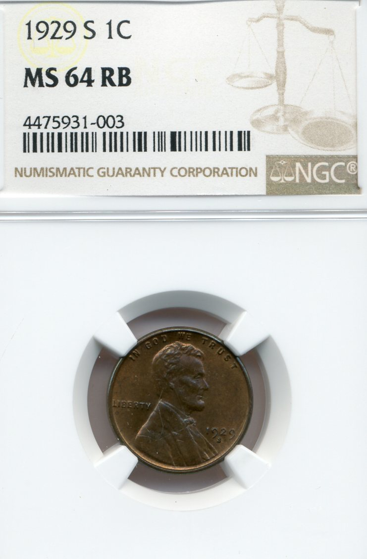 1929-S Lincoln Cent