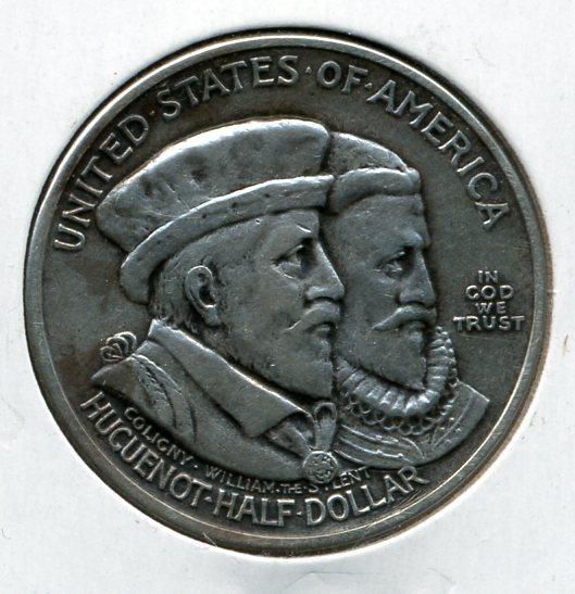 1924 Huguenot Commemorative Half Dollar
