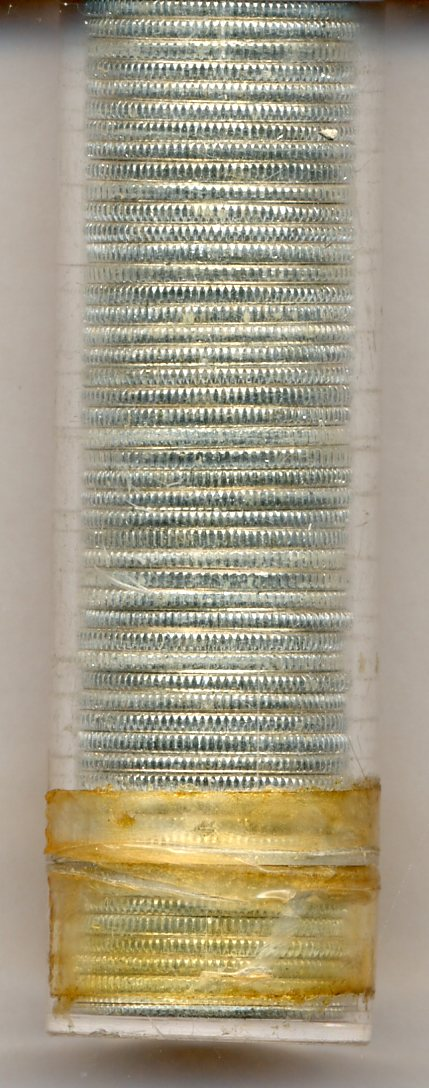 Roll of 1964 Roosevelt Dimes