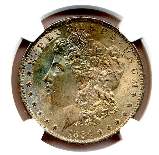 1884-O Morgan Dollar