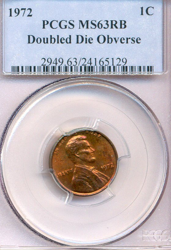 1972 Lincoln Cent