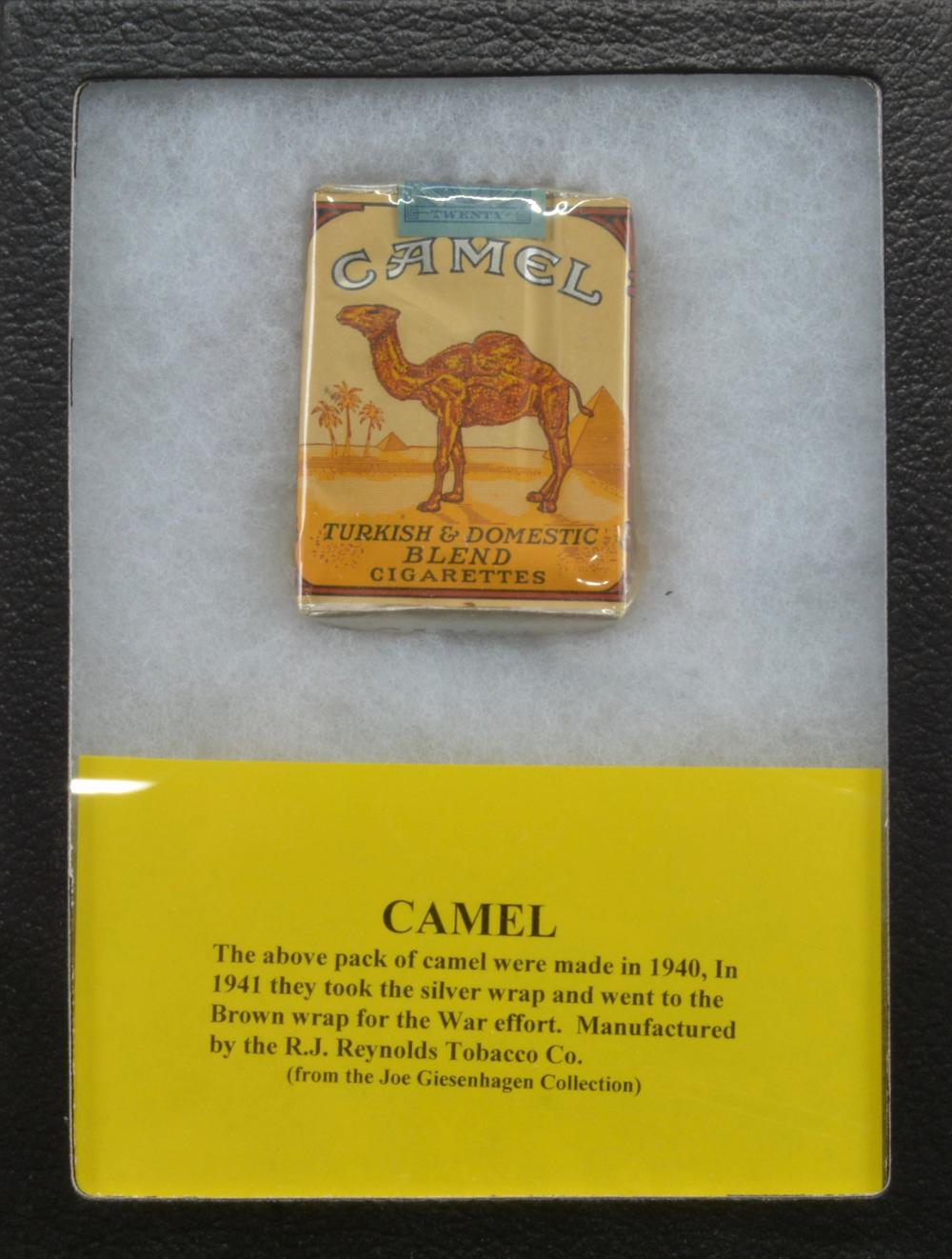 Sold Price Wwii Camel Cigarettes Unopened Pack August 5 0118 1 00 Pm Edt