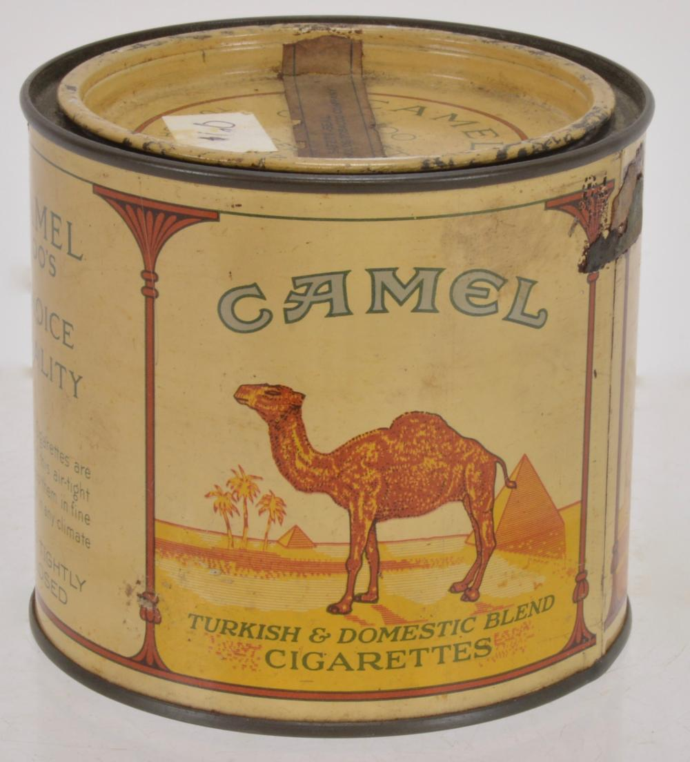 Sold Price Camel Cigarettes 100 Round Tin August 5 0118 1 00 Pm Edt