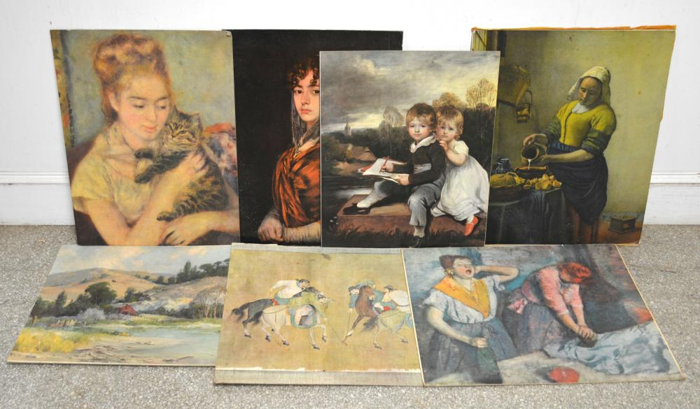 Vintage Fine Art Print Collection