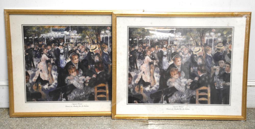 Vintage Fine Art Renoir Print Collection