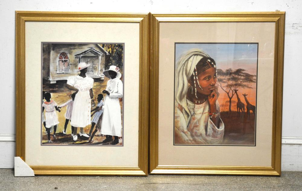 African American Art Print Collection