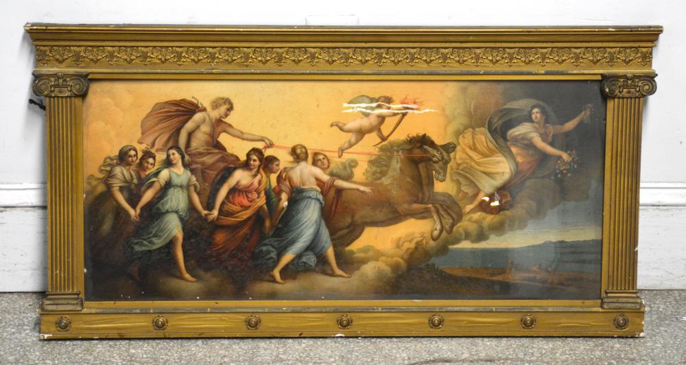 Goddess Aurora Chariot Of Phoebus Horses Print