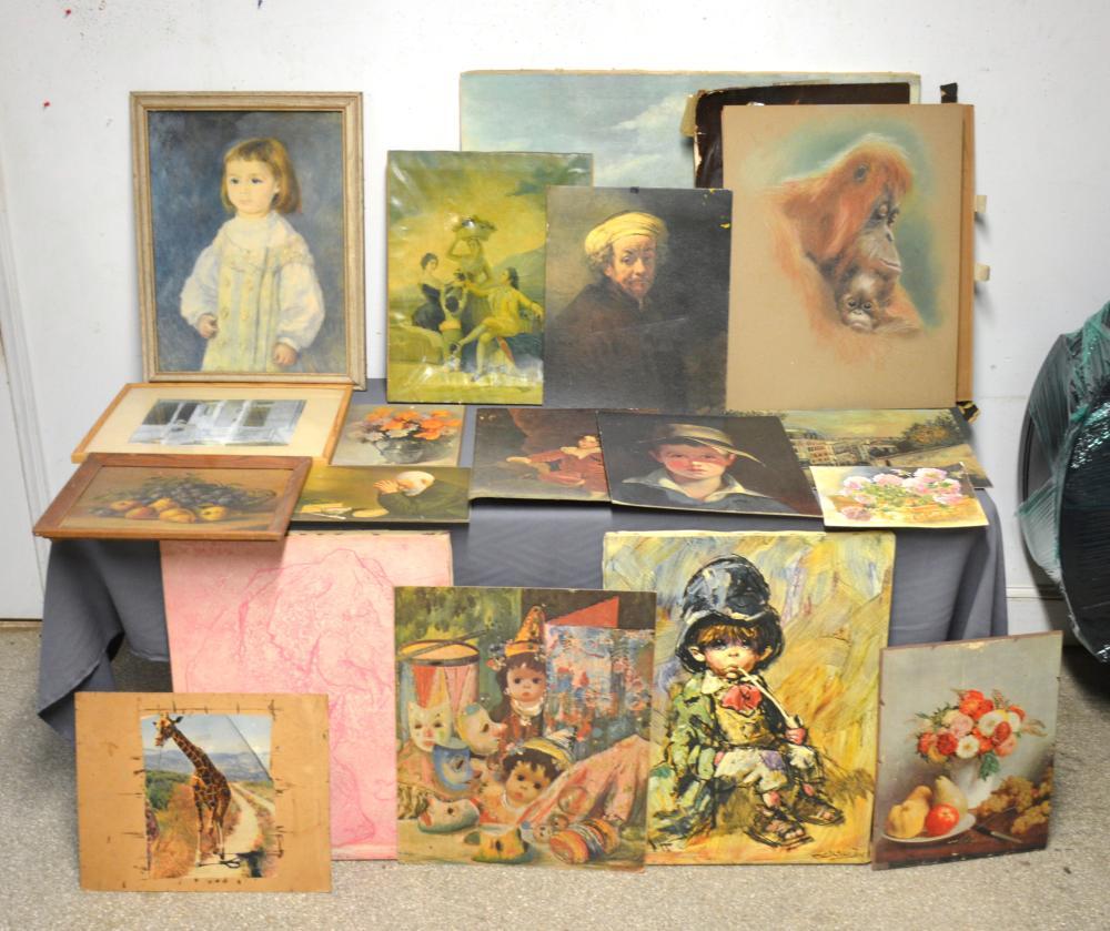 Fine Art Prints Painting Pastel Estate Collection