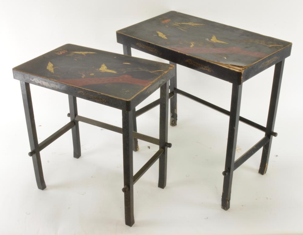 Pair Asian Nesting Tables