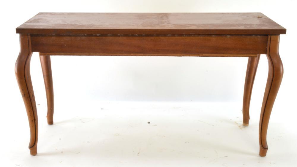 Mahogany Piano Bench