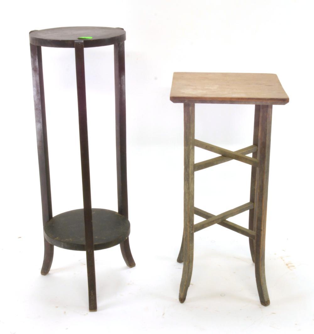 Antique Wooden Fern Stands