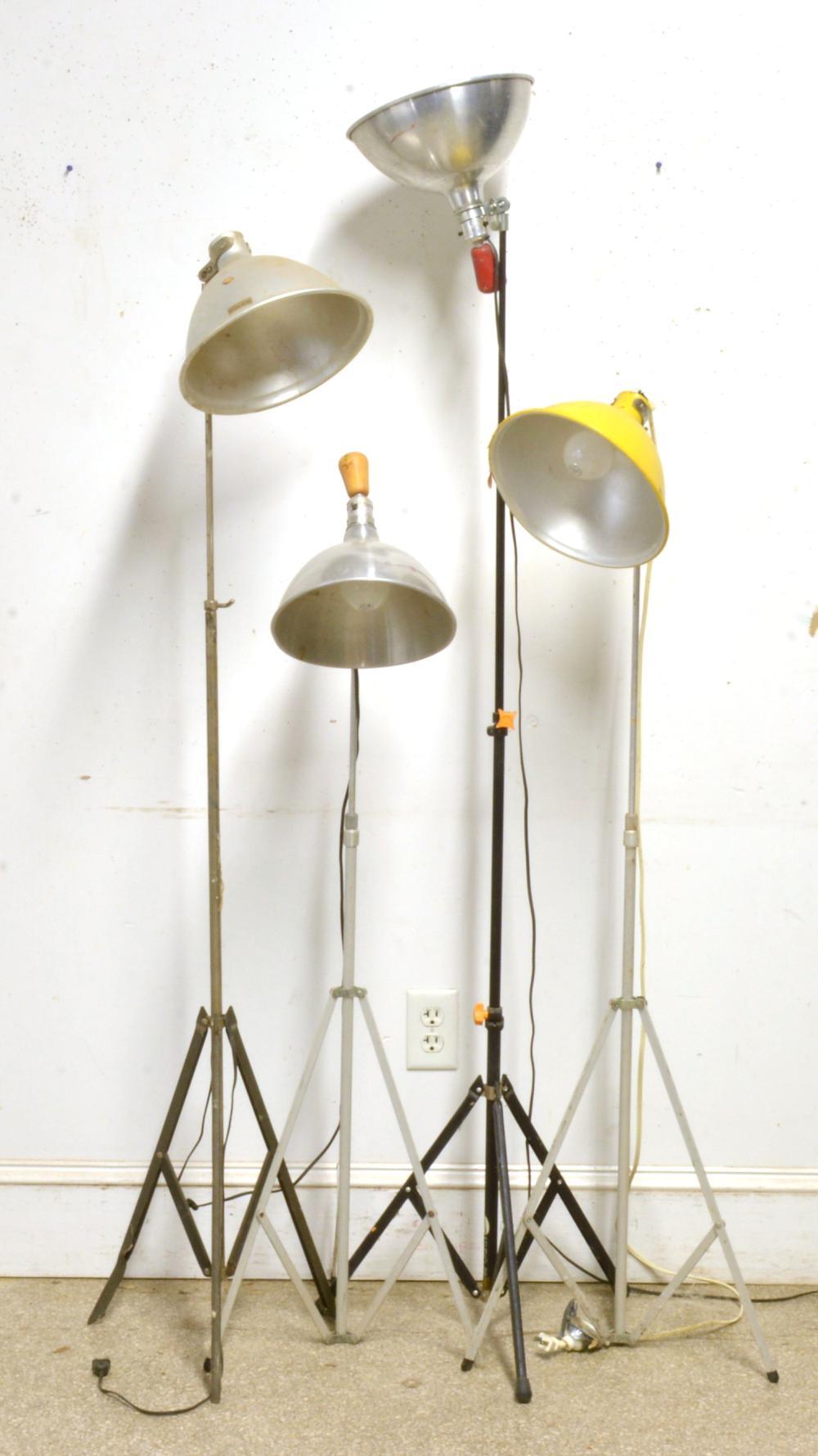 Vintage Studio Floor Lamps