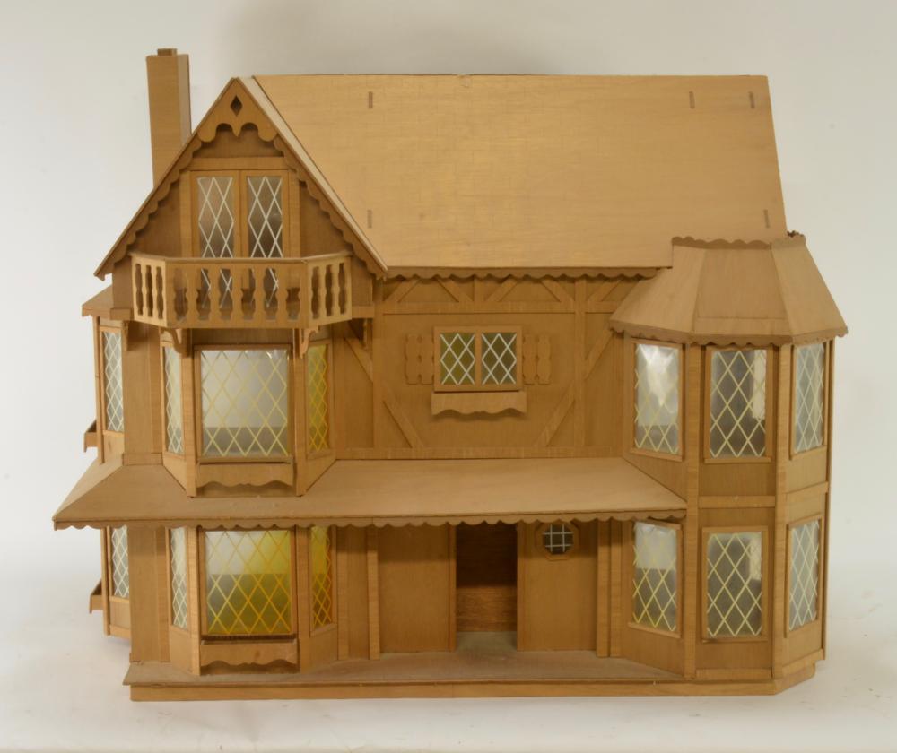 Vintage Van Buren Wooden Doll House