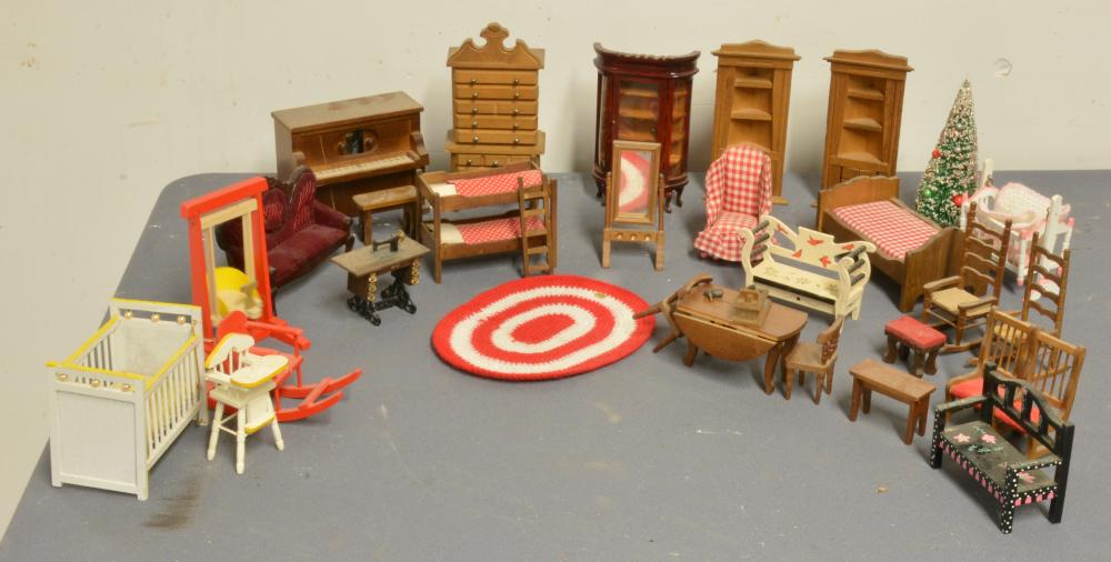 Vintage Doll House Furniture Collection