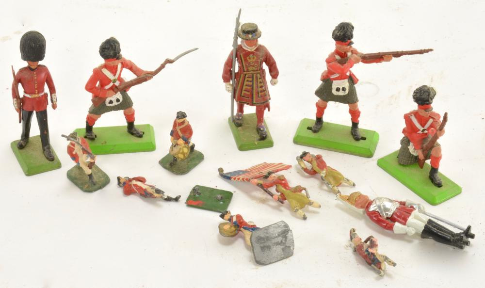 Vintage Lead Toy Soldier Collection
