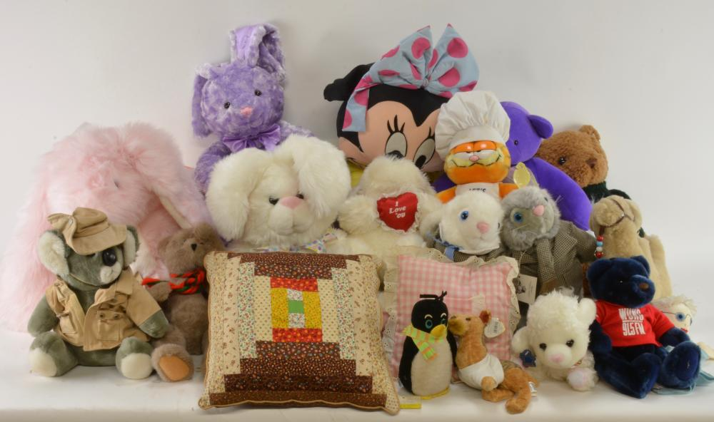 Vintage Stuffed Toy Animal Collection