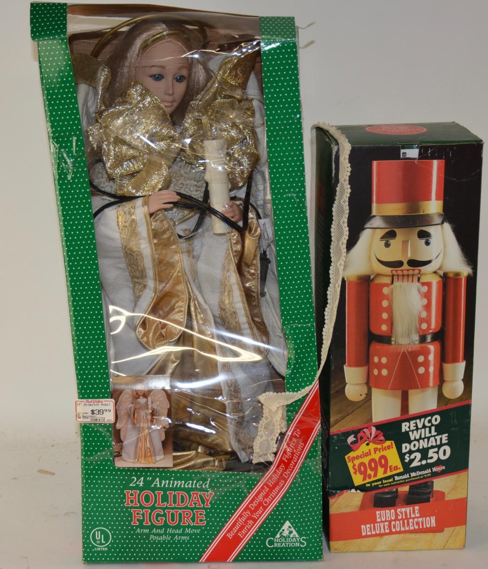 Vintage Nutcracker And Dolls Group Lot
