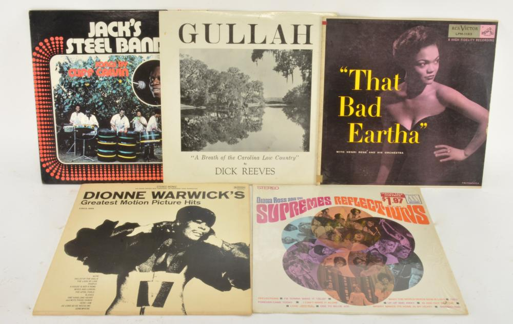 Vintage Vinyl Record Albums Estate Group Lot